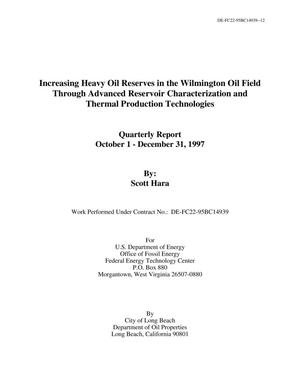 Primary view of object titled 'Increasing Heavy Oil Reserves in the Wilmington Oil Field Through Advanced Reservoir Characterization and Thermal Production Technologies'.