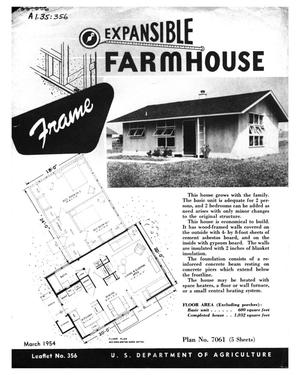 Primary view of object titled 'Expansible Farmhouse: Frame.'.
