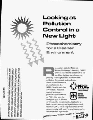 Primary view of object titled 'Looking at pollution control in a new light: Photochemistry for a cleaner environment'.