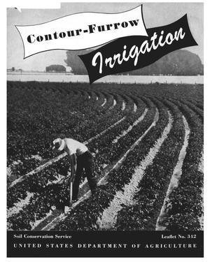 Contour-furrow irrigation.