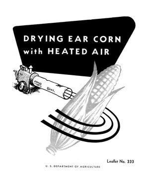 Primary view of object titled 'Drying Ear Corn With Heated Air.'.