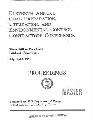 Primary view of object titled 'Eleventh annual coal preparation, utilization, and environmental control contractors conference: Proceedings'.