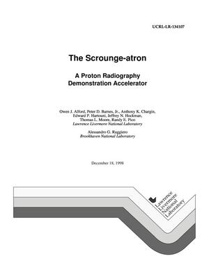 Primary view of object titled 'The scrounge-atron: a proton radiography demonstration accelerator'.