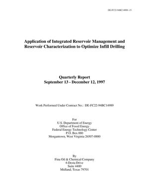 Primary view of object titled 'Application of Integrated Reservoir Management and Reservoir Characterization to Optimize Infill Drilling'.