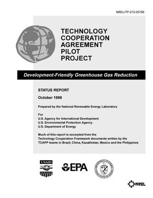 Thumbnail Image Of Item Number 1 In: U0027Technology Cooperation Agreement  Pilot Project: Development