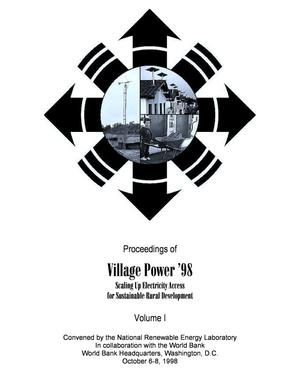 Primary view of object titled 'Village Power '98'.