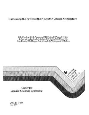 Primary view of object titled 'Harnessing the power of the new SMP cluster architecture'.