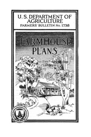 Primary view of object titled 'Farmhouse plans.'.