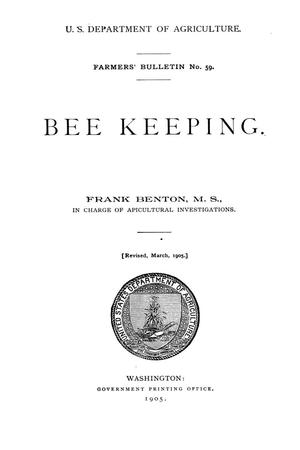 Bee keeping.