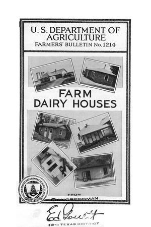 Farm dairy houses.