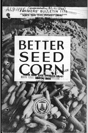 Better seed corn.