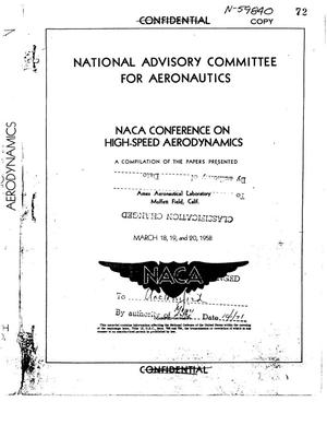 Primary view of object titled 'NACA Conference on high-speed aerodynamics'.
