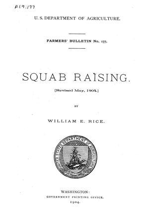 Primary view of object titled 'Squab Raising.'.