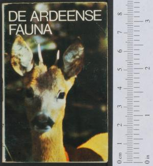 Primary view of object titled 'De Ardeense fauna'.