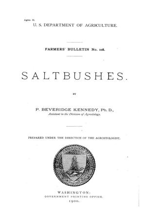 Primary view of Saltbushes.