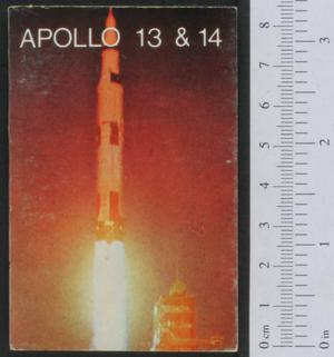 Primary view of object titled 'Apollo 13 en 14'.