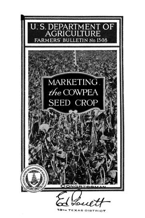 Primary view of object titled 'Marketing the cowpea seed crop.'.