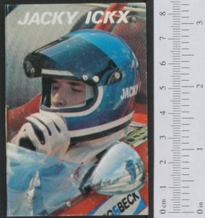 Primary view of object titled 'Jacky Ickx'.