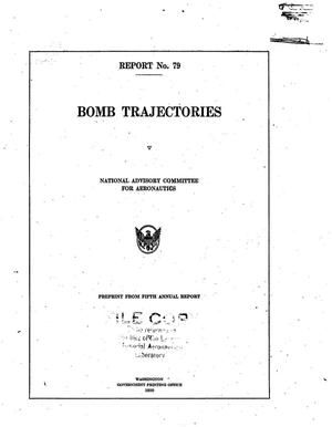 Primary view of object titled 'Bomb trajectories'.
