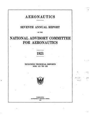 Annual report of the National Advisory Committee for ...