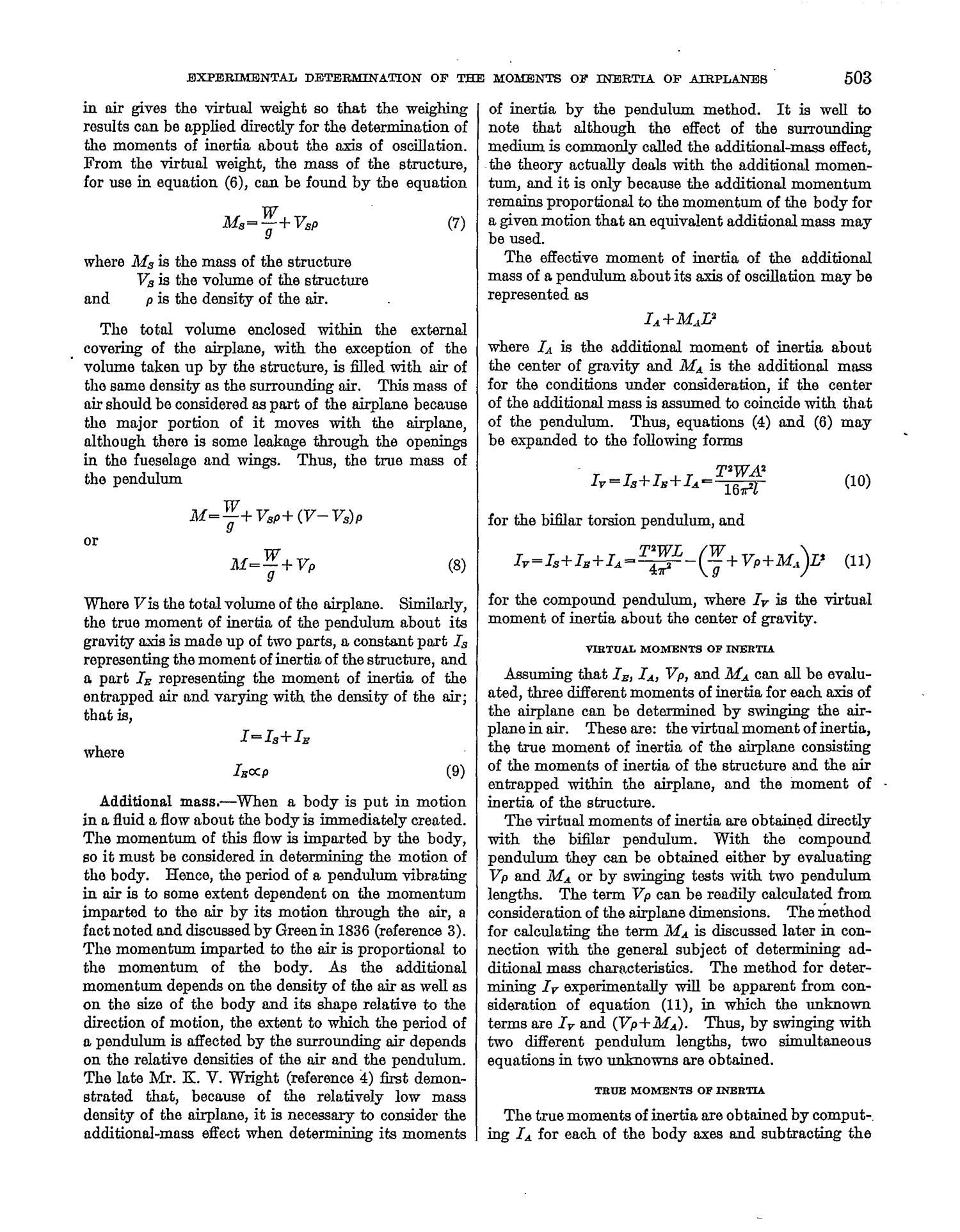 bifilar pendulum period equation