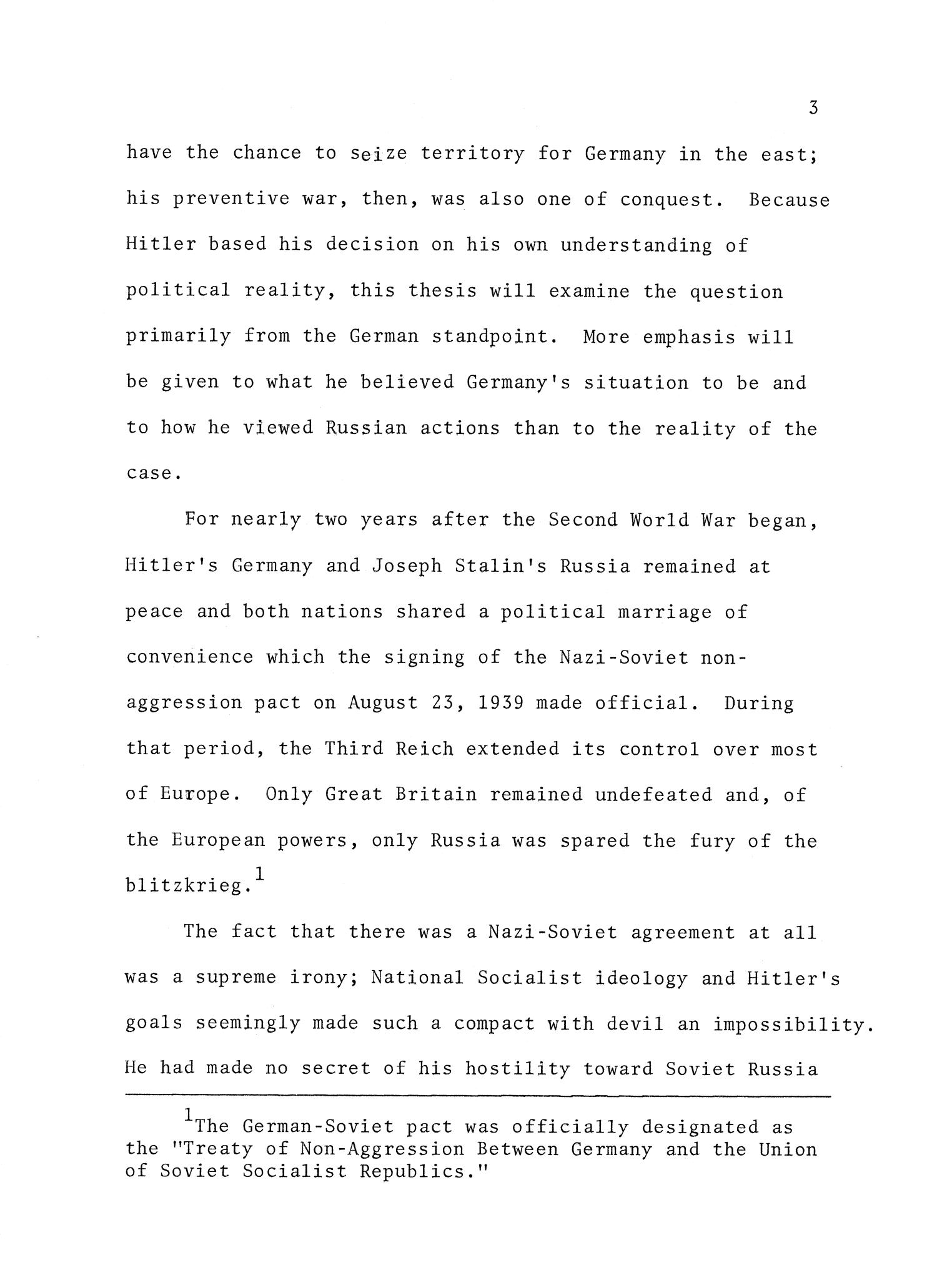 Adolf Hitler's Decision to Invade the Soviet Union - Page 3