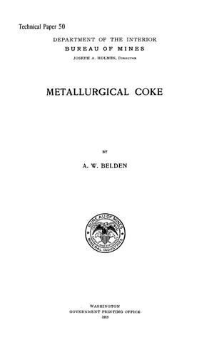 Primary view of object titled 'Metallurgical Coke'.