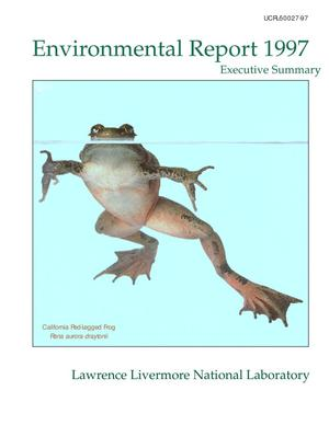 Primary view of object titled 'Site Annual Environmental Report for 1997 - Executive Summary'.