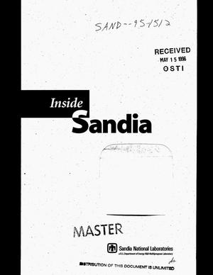 Primary view of object titled 'Inside Sandia'.