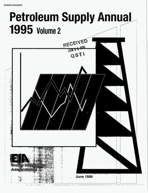 Primary view of object titled 'Petroleum supply annual 1995: Volume 2'.