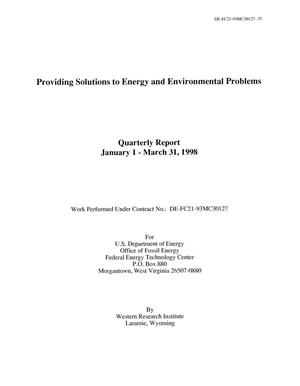 Primary view of object titled 'Providing Solutions To Energy and Environmental Problems'.