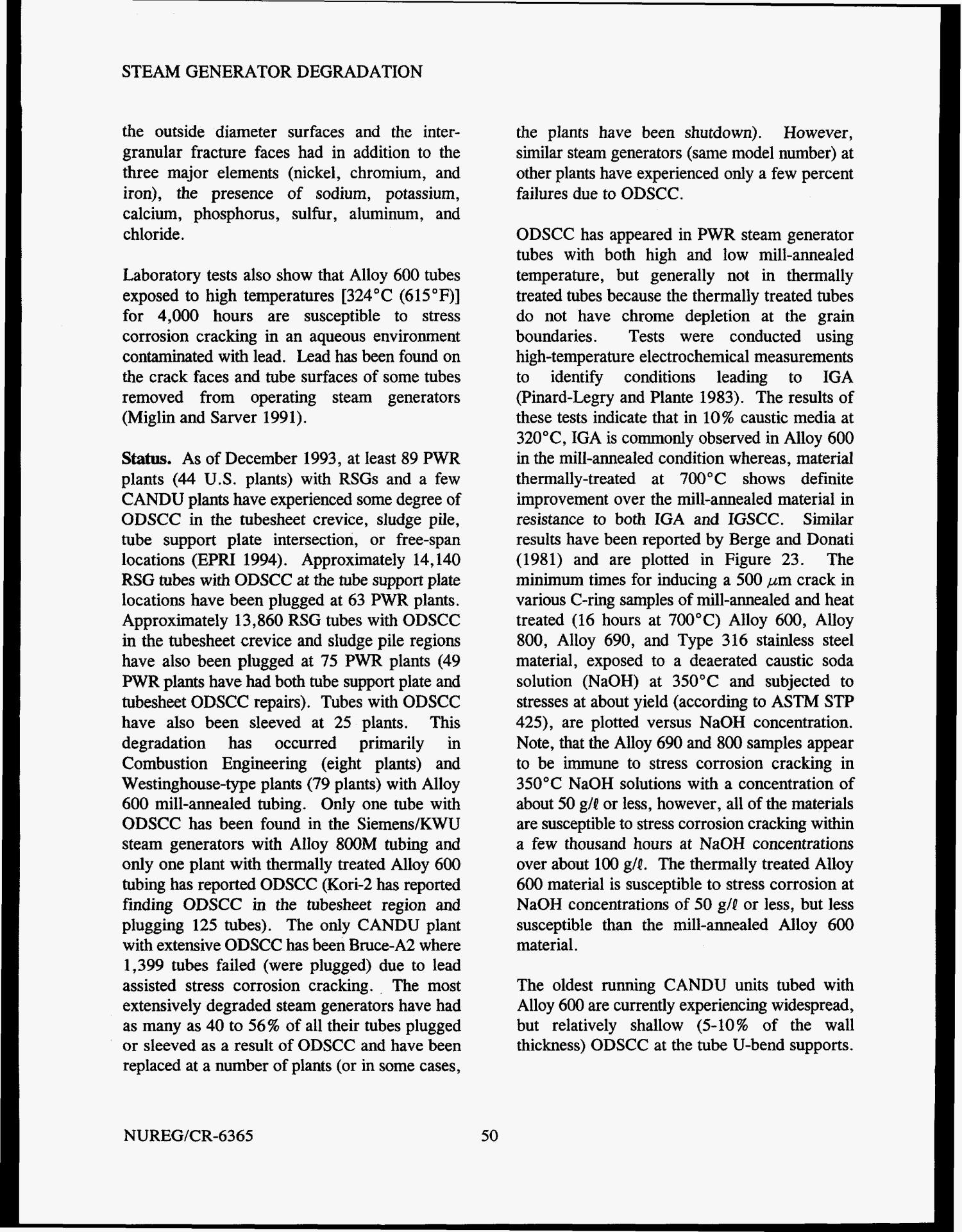Steam generator tube failures Page 85 of 307 Digital Library