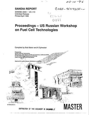 Primary view of object titled 'Proceedings -- US Russian workshop on fuel cell technologies'.