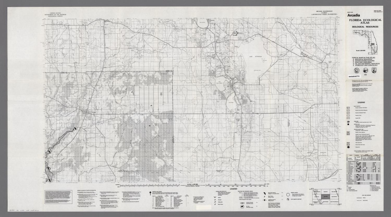 Arcadia Florida Map.Arcadia Biological Resources Digital Library