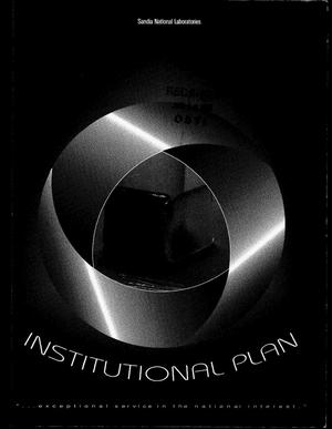 Primary view of object titled 'Sandia National Laboratories Institutional Plan: FY 1996--2001'.