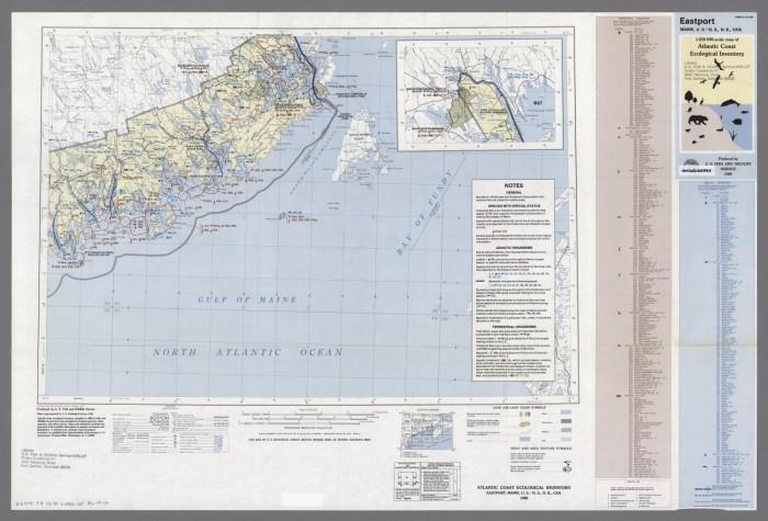 Eastport Maine United States Nova Scotia New Brunswick Canada
