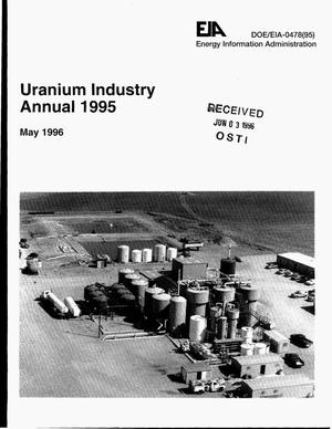 Primary view of object titled 'Uranium industry annual 1995'.