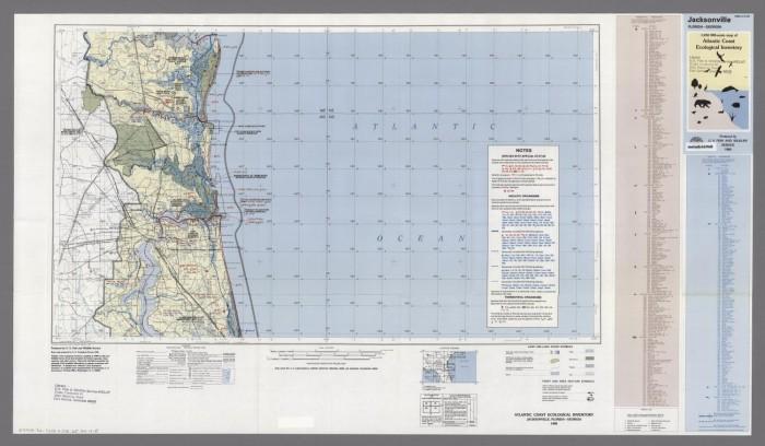Map Of Jacksonville Georgia.Jacksonville Florida Georgia Digital Library