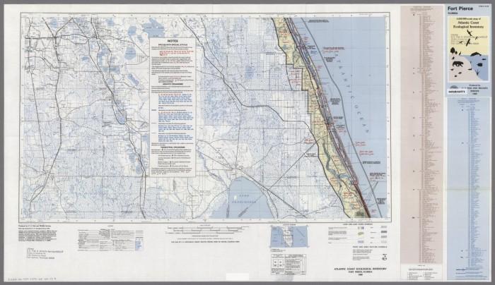 Map Of Fort Pierce Florida.Fort Pierce Florida Digital Library