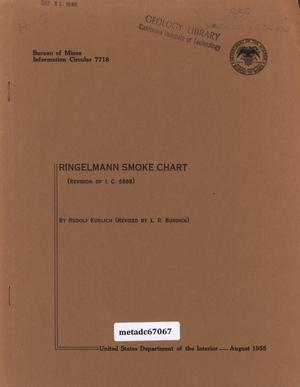 Ringelmann Smoke Chart: Revision of I. C. 6888