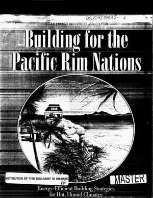 Primary view of object titled 'Building for the Pacific Rim Countries. Energy-efficient building strategies for hot, humid climates'.