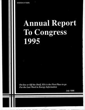 Primary view of object titled 'Annual report to congress 1995'.