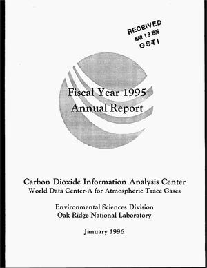 Primary view of object titled 'Carbon Dioxide Information Analysis Center and World Data Center-A for atmospheric trace gases: Fiscal year 1995 annual report'.