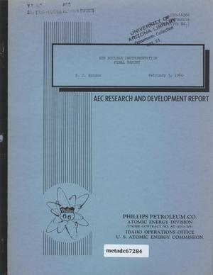 Primary view of object titled 'ETR Nuclear Instrumentation : Final Report'.