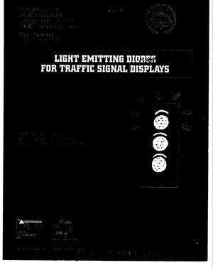 Primary view of object titled 'City of Phildelphia: Light emitting diodes for traffic signal displays'.