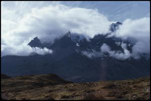 Primary view of Mountains - return to Puerto Natales