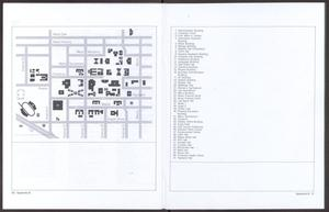 Primary view of object titled '[North Texas State University: Campus Map, 1983]'.