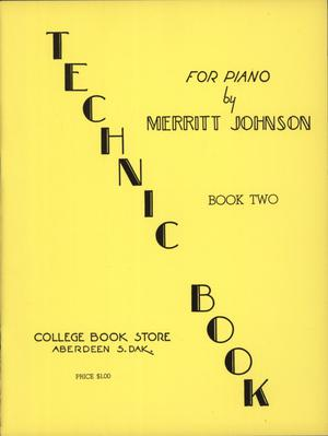 Primary view of object titled 'Technic Book No. 2 for Piano'.