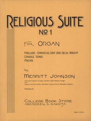 Primary view of object titled 'Religious Suite No. 1 for Organ'.