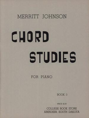 Primary view of object titled 'Chord Studies for Piano, Book 3'.